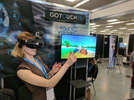 Satt actualité : La réalité virtuelle prend de la texture