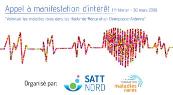Satt actualité : Appel à manifestation d'intérêt conjoint SATT Nord et Fondation Maladies Rares : Découvrez les lauréats