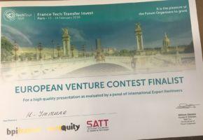 Satt actualité : Les startup Go Touch VR et H-Immune lauréates du France Tech Transfer Invest 2018 organisé par Bpifrance et le réseau SATT