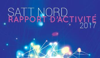 Satt actualité : Découvrez le rapport d'activité 2017 de la SATT Nord