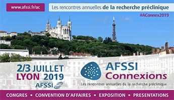 Satt actualité : La SATT Nord partenaire des rencontres annuelles de la recherche préclinique  organisées par l'AFSSI -2 et 3 juillet 2019 à Lyon