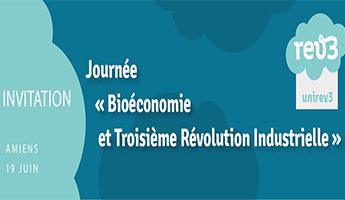 Satt actualité : La SATT Nord partenaire de la journée «Bioéconomie et 3e révolution industrielle» le 19 juin à Amiens