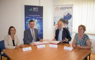Satt actualité : La SATT Nord et le cancéropôle Nord‐Ouest signent un accord de partenariat pour lutter contre le cancer