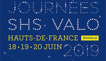 Satt actualité : Journées SHS Valo en Hauts de France organisées par la MESH du 18 au 20 juin