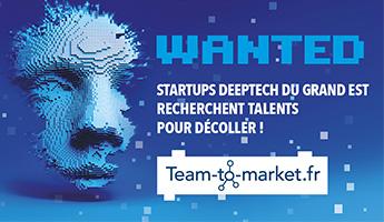 Satt actualité : Team-to-market.fr®: une nouvelle initiative des 3 SATT du Grand Est pour stimuler la création et le décollage des startups Deeptech