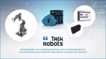 Satt actualité : Nouvelle video Projet  : TALK ROBOTS Middleware de communication et d'interopérabilité de robots et objets connectés hétérogènes