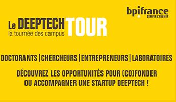 Satt actualité : DEEP TECH TOUR LILLE : A la rencontre de l'innovation de rupture – Venez nombreux le 11 décembre à l'université de Lille