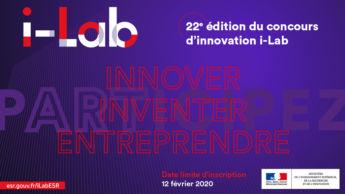 Satt actualité : i-Lab 2020 : Lancement de la 22e édition