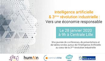 Satt actualité : Journée «Intelligence Artificielle et 3ème révolution industrielle» – 28 janvier 2020