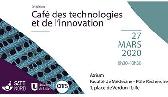 Satt actualité : SAVE THE DATE : 3ème édition du Café des technologies et de l'innovation