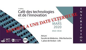 Satt actualité : REPORTE : 3ème édition du Café des technologies et de l'innovation