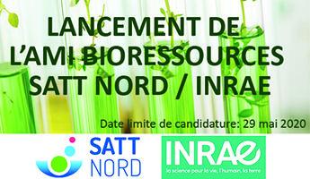 Satt actualité : Lancement de l'AMI Bioressources en partenariat avec INRAE