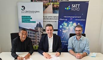 """Satt actualité : EuraTechnologies et la SATT NORD joignent leurs forces pour encourager et accélérer l'accompagnement des projets """"Deep Tech"""""""