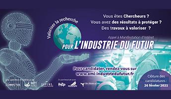 Satt actualité : La SATT Nord, les SATT Conectus et SAYENS s'associent pour lancer l'AMI Industrie du Futur