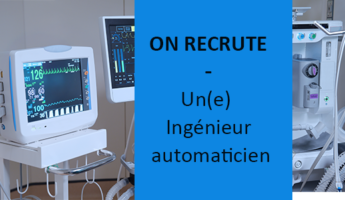 Satt actualité : On recrute pour l'un de nos projets un ingénieur automaticien – CDI de chantier de 12 mois basé à Lille