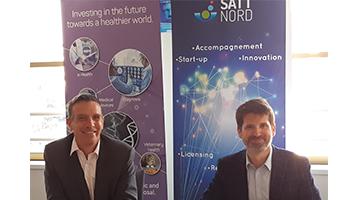Satt actualité : La SATT Nord et le CHU de Lille ont signé une licence exclusive avec Hemerion Therapeutics pour l'exploitation d'une nouvelle technologie anti-cancéreuse