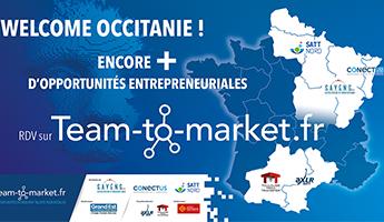 Satt actualité : Les SATT AXLR et Toulouse Tech Transfer rejoignent Team-to-Market ! Encore + d'opportunités pour les futurs entrepreneurs #deeptech !