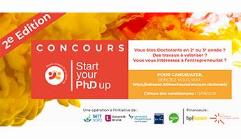 Satt actualité : Lancement de la 2e édition du concours Start your phd Up