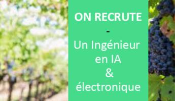 Satt actualité : On recrute pour l'un de nos projets : un(e) Ingénieur(e) en IA et électronique- CDI basé à REIMS
